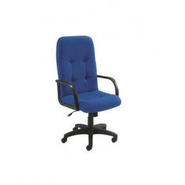 Arista High Back Fabric Manager Chair Blue