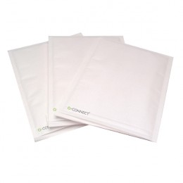 Q-Connect Bubble Lined Envelopes Size 7 White [Pack of 50]