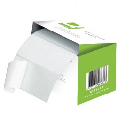 Q-Connect Adhesive Address Labels 76x50mm [Roll of 1500]