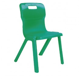 Titan 1 Piece School Chair Size 2 Green