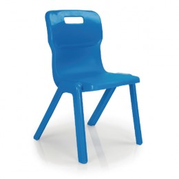 Titan 1 Piece School Chair Size 3 Blue