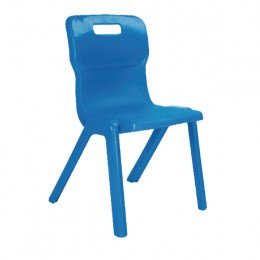 Titan 1 Piece School Chair Size 6 Blue