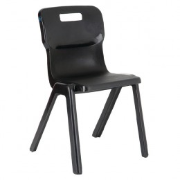 Titan 1 Piece School Chair Size 6 Charcoal