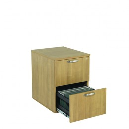 Avior 2 Drawer Filing Cabinet Ash