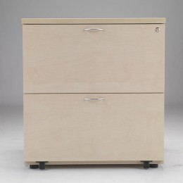 Arista Desk High Side Filer Maple