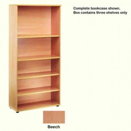 Jemini Open Storage Shelf Beech