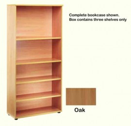 Jemini Open Storage Shelf Oak