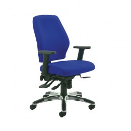 Cappela Agility High Back Posture Chair Blue