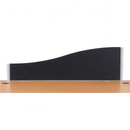 Jemini Wave Screen 1600mm Black