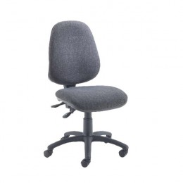 Jemini Plus High Back Operator Chair Black