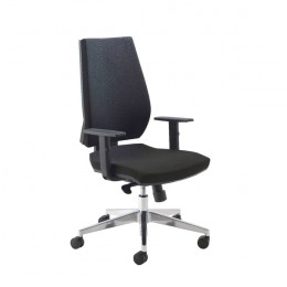 Arista High Back 3 Lever Task Chair Blue