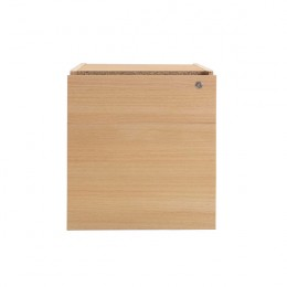 Jemini Intro Fixed Pedestal 3 Drawer Ferrera Oak