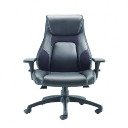 Avior Veloce Leather Look And Mesh Managers Task Chair