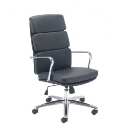 Arista Stride Leather Look Executive Chair