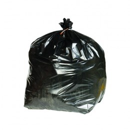 2Work Extra Heavy Duty Refuse Sacks Black. [Pack of 200]