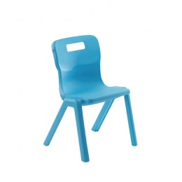 Titan One Piece School Chair Size 1 Sky Blue KF78509