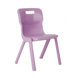 Titan One Piece School Chair Size 2 Purple KF78510