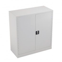 Talos Double Door Cupboard 1000mm White