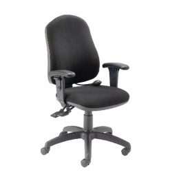 First High Back Posture Chair Black