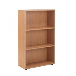 Jemini 18 Oak 1236mm Open Bookcase