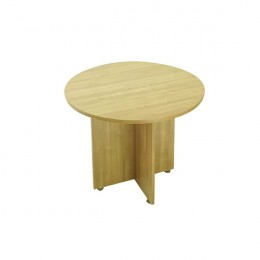 Avior 1200mm Round Meeting Table Ash
