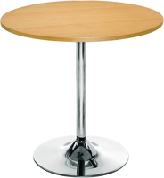 Arista Bistro Trumpet Base Table Beech