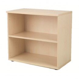 Jemini 730mm Bookcase 1 Shelf Maple