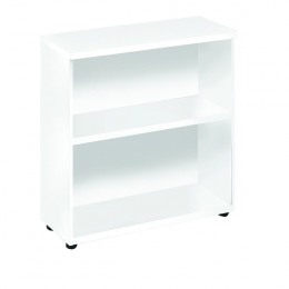 Jemini 730mm Bookcase 1 Shelf White