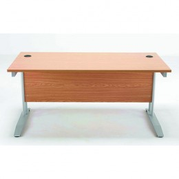 Arista 1600mm Rectangular Desk Beech