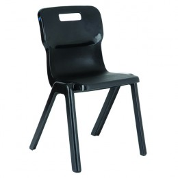 Titan 1 Piece Chair 460mm Charcoal [Pack of 10]