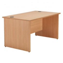 Jemini 1400mm Rectangular Beech Desk