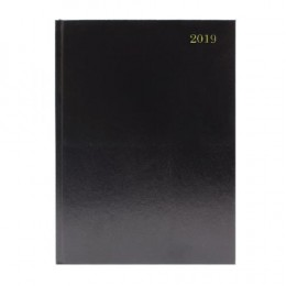Condiary A4 Diary Week to View 2020 Black