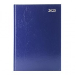 Condiary A5 Diary Appointment Day per Page 2020 Blue