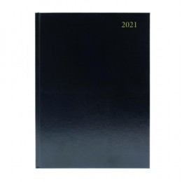 Condiary A5 Diary Day per Page 2021 Black