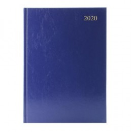 Condiary A5 Diary Day per Page 2020 Blue