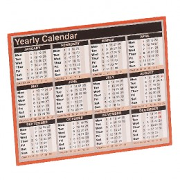 Condairy Year to View Calendar 2018