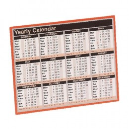Condiary Year to View Calendar 2019