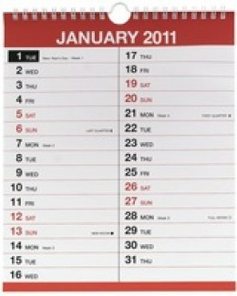 2011 calendar with week numbers uk. 4 Monthly Engagement Calendar
