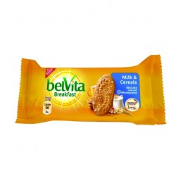 Belvita Breakfast Biscuits Milk and Cereal 50g [Pack of 20]