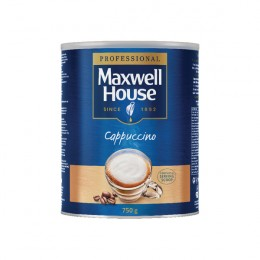 Maxwell House Instant Cappuccino Powder Tin 750g