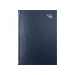 Letts A5 Business Diary Week to View 2019 Blue