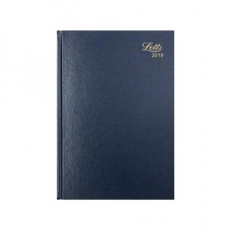 Letts A4 Business Diary Week to View 2019 Blue