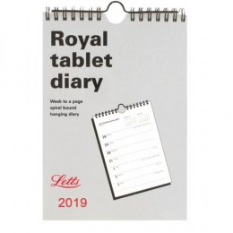 Letts Royal Tablet Calendar 2019