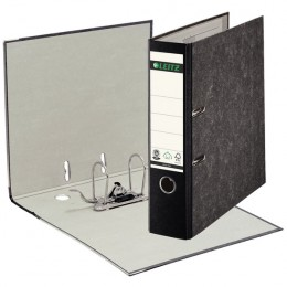 Leitz Lever Arch File Foolscap Black [Pack of 10]