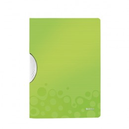 Leitz Wow Colorclip Polypropylene File Green [Pack of 10]