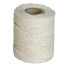 Cotton Twine String 125g Medium White [Pack of 12]