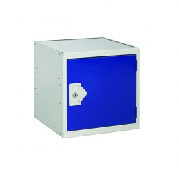 Cube Locker One Compartment Blue Door 450x450x450mm