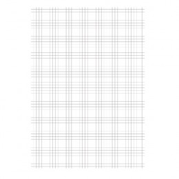 Graph Paper Loose A4 Quad Ruled 75g [Pack of 1000]