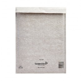 Bubble Postal Bag Self Seal White 240x330mm [Pack of 50]