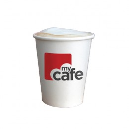 MyCafe 12oz Single Wall Hot Cups [Pack of 50]